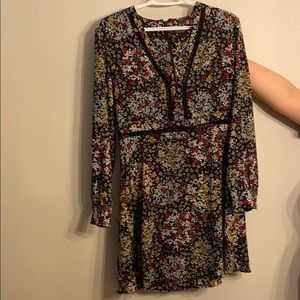Topshop casual flower dress